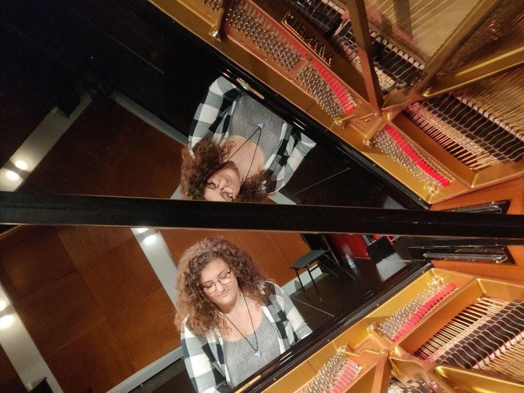 Mariateresa, een van onze pianisten.
